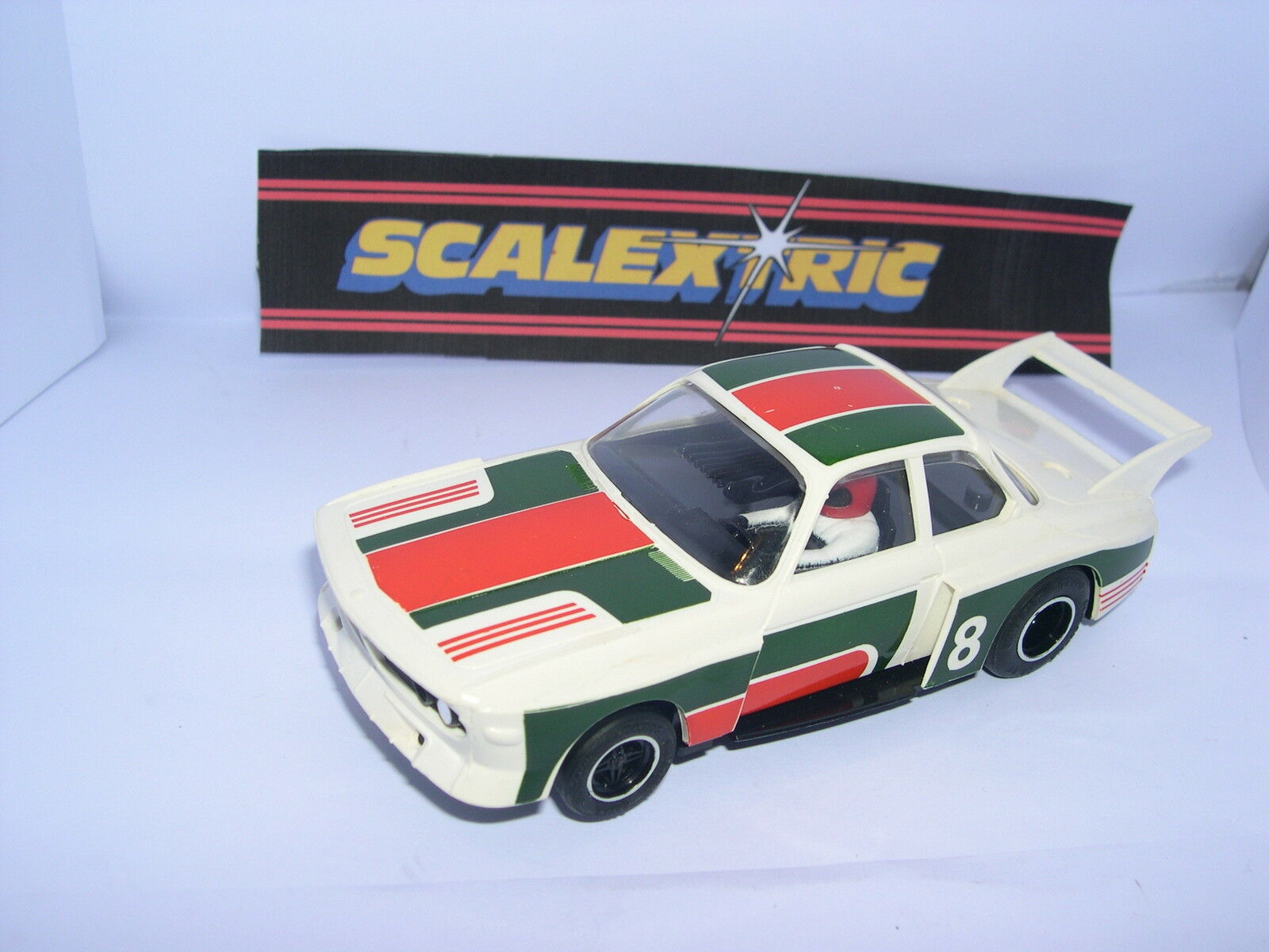 SCALEXTRIC C-116 SLOT CAR BMW 3.0 CSL EXCELLENT CONDITION  UNBOXED