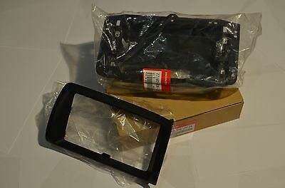 "Honda S2000 S2K OEM JDM Navigation Bezel Double Din Dash Genuine Black 7"" LCD"