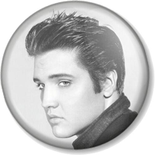 "Elvis Presley 25mm 1/"" Pin Button Badge Singer Songwriter Movie Actor Star Legend"
