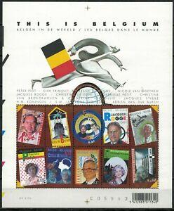 BELGIE   BELGIUM 2004  BL 108 ** THIS IS BELGIUM          10 x 0.57 EURO     //