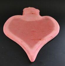 Kleine Wärmflasche in Herzform - Kinderwärmflasche