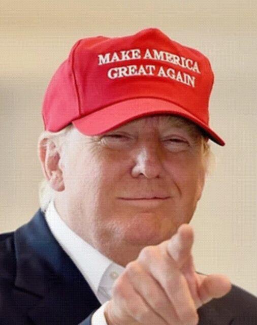 make america great again red full twill hat trump ebay