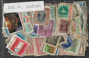 INDIA-STAMP-COLLECTION-PACKET-of-300-DIFFERENT-Stamps
