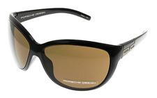 14fae99c75c Porsche Design Eyewear 8557 B V720 Aviator Sunglasses Striped Olive Green -