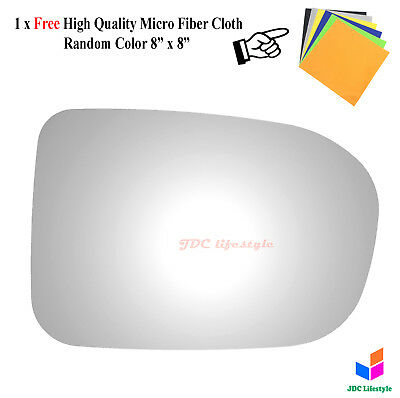 NEW for 14-15 Honda Civic Passenger Right Side RH Replacement Mirror Glass #5579