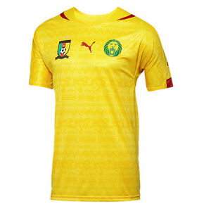 the best attitude 84f73 631af Puma Cameroon World Cup WC 2014 Away Soccer Jersey Brand New ...