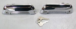 Fiat-124-sport-coupe-AC-Fiat-850-coupe-outer-door-handles-amp-Keys-1967-69-NOS