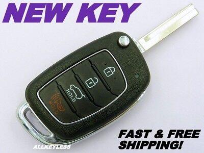 For 2017 2018 Hyundai Santa Fe Keyless Flip Remote Car Key Fob TQ8-RKE-4F31