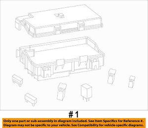 ram chrysler oem 2014 1500 5 7l v8 fuse box fuse relay. Black Bedroom Furniture Sets. Home Design Ideas