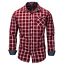 New-Fashion-Men-039-s-Slim-Fit-Shirt-Cotton-Long-Sleeve-Shirts-Casual-Shirt-Tops thumbnail 5