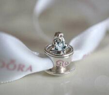 PANDORA Disney Alice in Wonderland Tea Cup Charm Bracelet Bead ...