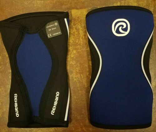 BRAND NEW REHBAND CROSSFIT RX KNEE SUPPORT *SOLD AS PAIRS* 7751 NEOPRENE 5 mm