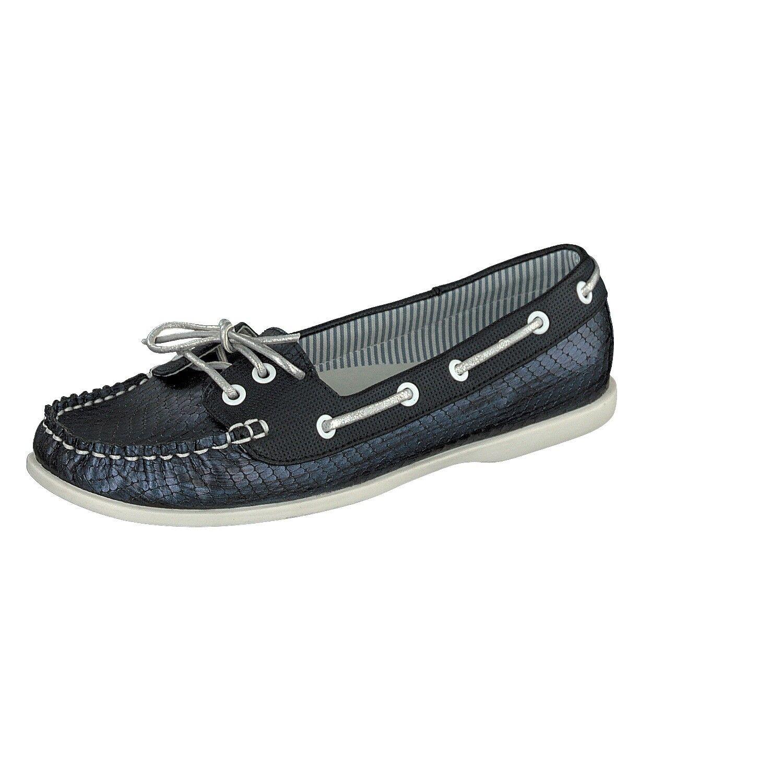Jane Klain Donna Super morbido 242-521 scarpe estive mocassino FIOCCO rettile