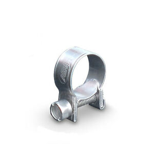 10 x 8 mm - 10 mm Acier Inoxydable Mini Tuyau Clips  </span>