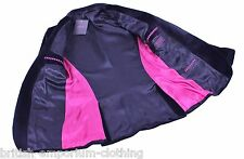 THOMAS PINK Black VELVET HAND CUSTOMISED Suit Jacket Blazer UK38 BNWT