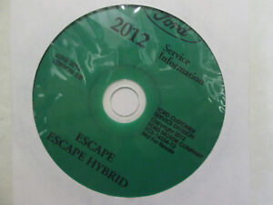 2012-FORD-ESCAPE-amp-Hybrid-Service-Shop-Repair-Information-Workshop-Manual-CD-NEW