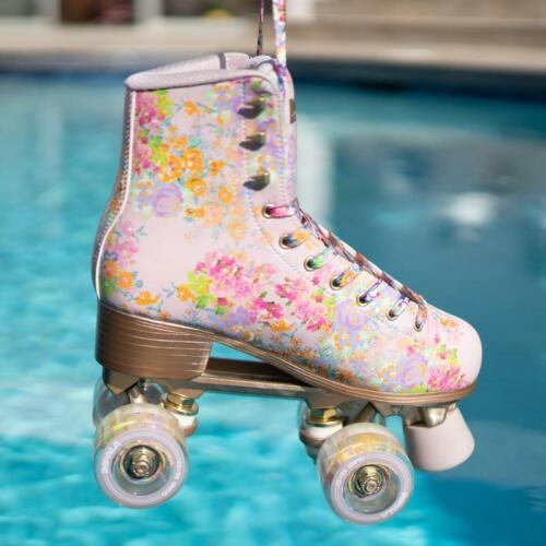 Cynthia Rowley Floral Details about  /Impala Sidewalk Roller Skates Quad Skate