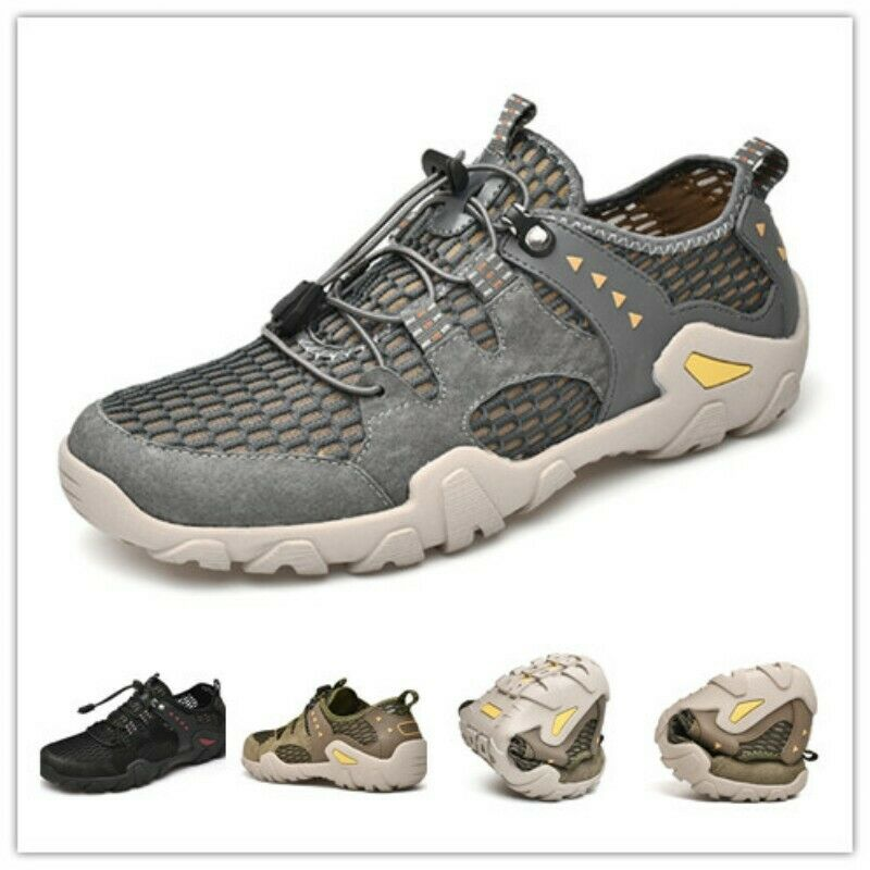 Spring Outdoor Men Athletics Lace Up Breathable Climbing Comfort Sneaker shoes Sz