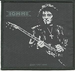 TONY-IOMMI-guitar-2016-WOVEN-SEW-ON-PATCH-official-merchandise-BLACK-SABBATH