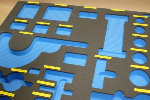 GR-BL Hard Foam Shadow Board Tool Inlay foam 66,00 EUR//m²
