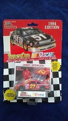 New 1994 Racing Champions 1:64 NASCAR Jimmy Spencer McDonald/'s Thunderbird #27 b