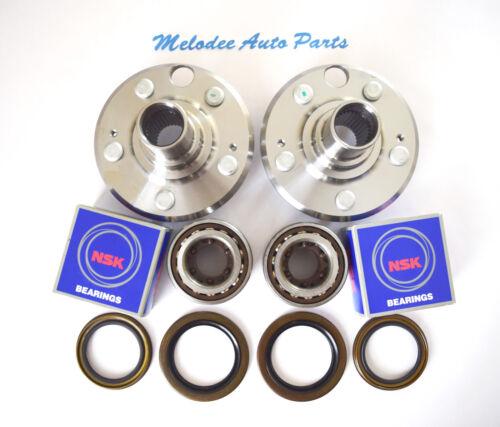 2 REAR Wheel Hub /& NSK KOYO Japanese Wheel Bearing Set for LEXUS LS400  93-00