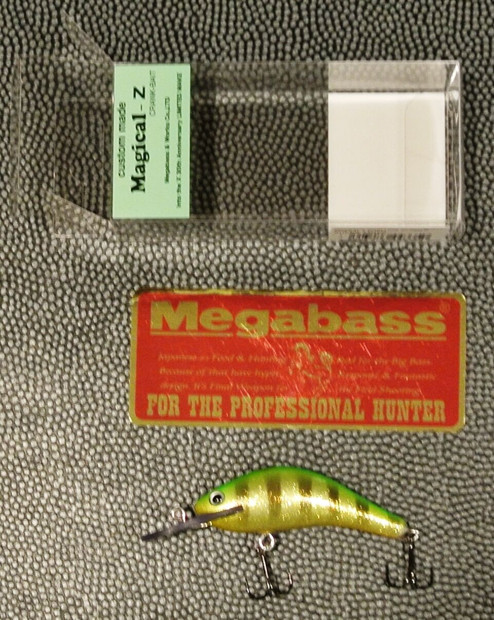 WOW  Megabass 30th  Into The X MAY 2017   Magical-Z Shallow Runner SUPER TIGER