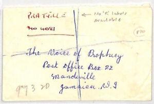 CB47-1966-Jamaica-Pratville-HAND-DRAWN-REGISTERED-ETIQUETTE-Cover-Mandeville