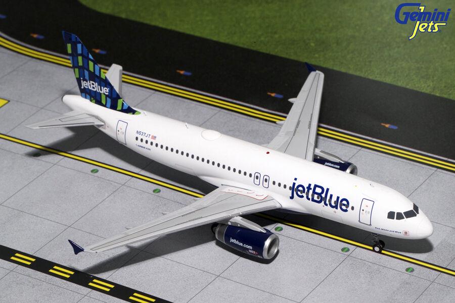 Gemini Jets Jetblu Airways Airbus A320-200 de alto aumento librea 1 200 G2JBU662