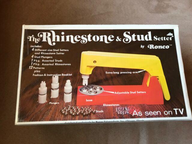 NIB Bedazzler Stud /& Rhinestone Setting Machine