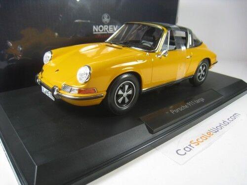 PORSCHE 911 E TARGA 1969 1 18 NOREV (Orange)