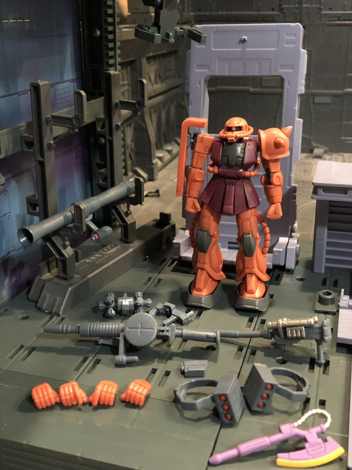 Bandai Gundam High Mobility Zaku 2 2 2 Chars Zaku Version 2 Msia Action Figure Lot 24eacc