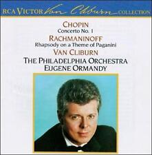 Van Cliburn, Chopin: Piano Concerto 1 / Rachmaninoff: Rhapsody On A Theme Of Pag
