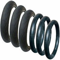 3 X Phil & Teds Verve Pushchair Tyre And Tube Sets, 300 X 55 To Suit Verve Only