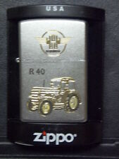 Zippo Sturmfeuerzeug Hanomag Trecker R40 High End Gravur