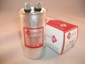 40 Mfd 370 440vac Round Electric Motor Run Oil Filled