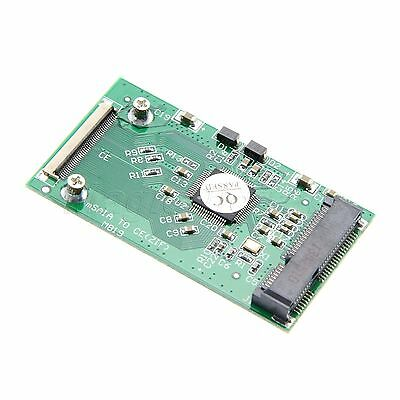 New 50mm Mini mSATA PCI-E SSD to 40pin ZIF CE Cable Adapter Card
