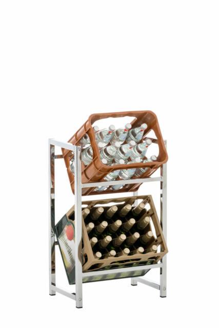 2er Getränkekistenständer Lennert Farbe:schwarz #304759