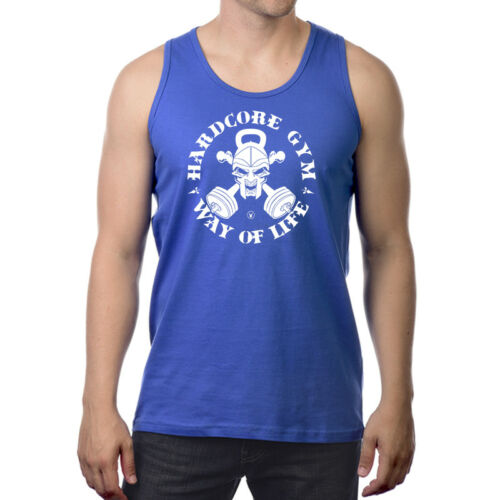 HARDCORE GYM Gym Rabbit Muscle T Shirt Tank 6col Sleeveless Bodybuilding D243