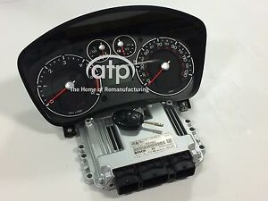 Details about FORD ECU RE-MANUFACTURE SERVICE 0281011612, 6S61-12A650-VC +  CLUSTER + KEY