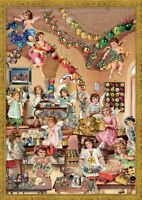 Richard Sellmer Verlag - Traditional German Paper Advent Calendar Angel Workshop