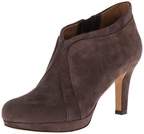 Clarks Kently Laila Damenschuhe Dark Taupe Suede Ankle Stiefel Sz 9.5 M Schuhes NEU