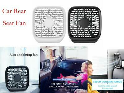 Baseus Mini USB Fan Foldable 3-Speed 3.6W Car Headrest Seat Home Cooling Fan