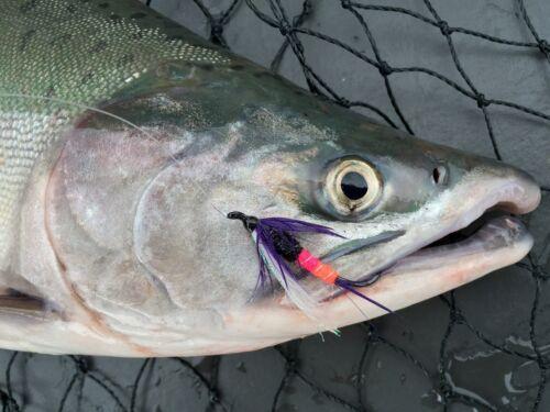 Fly Fishing Flies Henry/'s Freight Train Fly x 6 Steelhead, Salmon, Trout, Bass