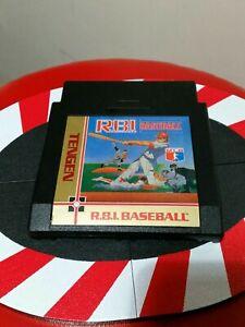 R.B.I Baseball 1 Tengen BLACK RBI (Nintendo Entertainment System NES) Cart Only!