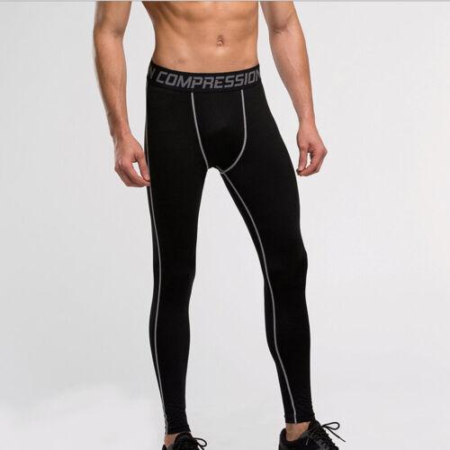 Hohe Elastizität Der Männer Stretch Strumpfhosen Schwarz XL