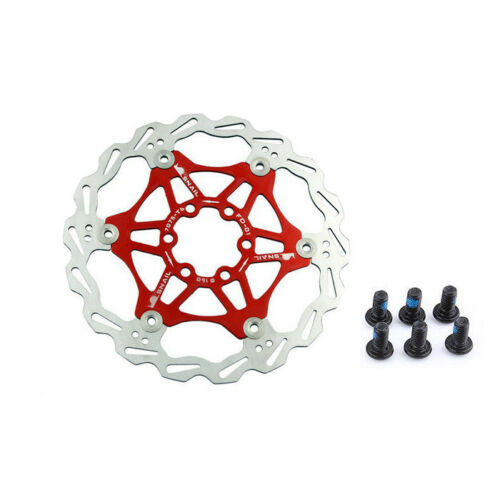 US Mountain Bike Bicycle Brake Disc Floating Pads 160//180//203mm 6Bolt Rotors 1PC
