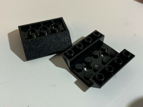 2pcs Inverted 45 4 x 4 Double w 2 Holes choose color LEGO Parts 72454