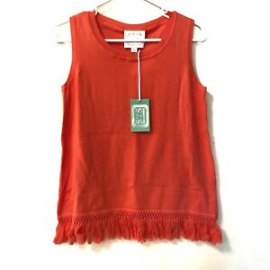 14aaa52a6f73ac NWT Womens Sail to Sable Knit Size XS Tank Top Shirt Sleeveless ...