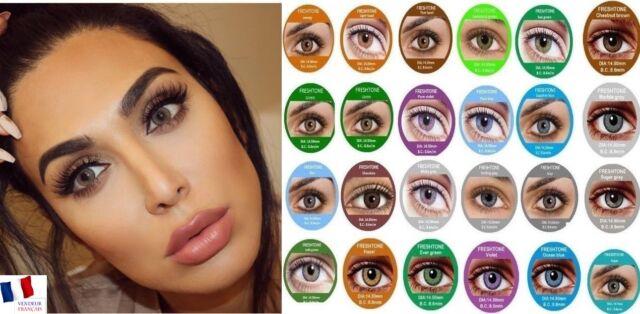 2463e845100c22 LENS-Color-Contact-Lenses-Lentilles-de-couleur-1-year-FreshTone   eBay